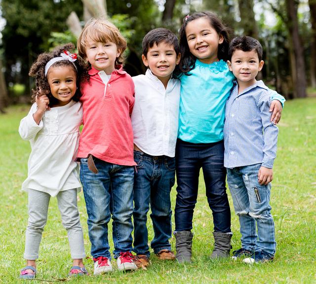 Image result for diverse friends children