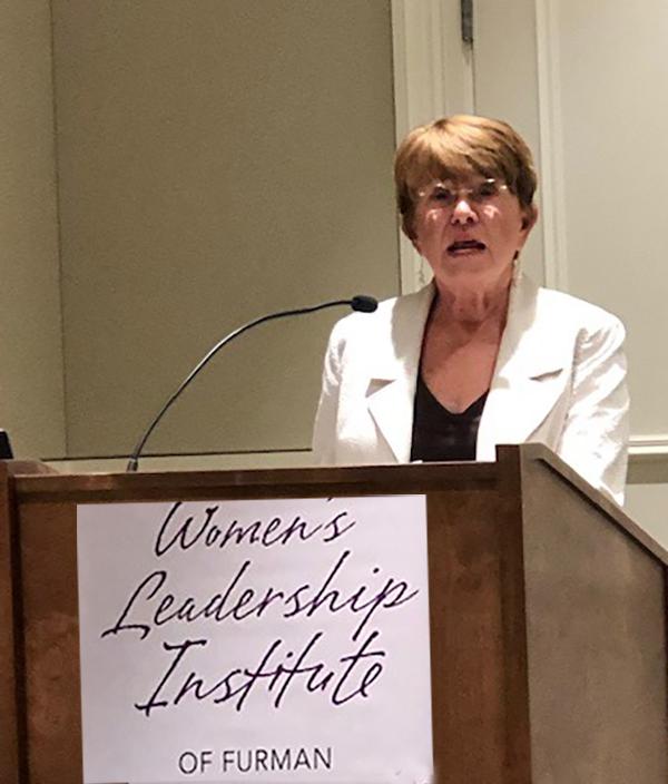 Susan Shi keynote address at 2019 Furman Women's Leadership graduation