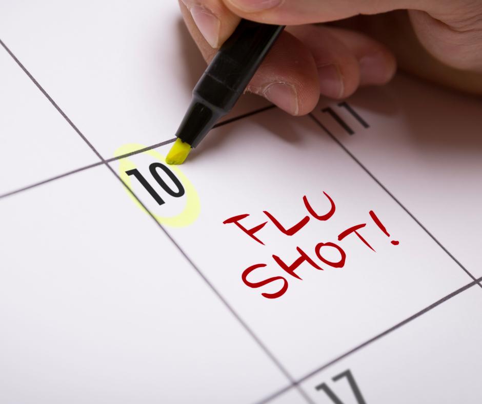 schedule flu shot